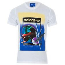 adidas Originals Mens Artist City Life Tokyo T-Shirt 2XL 46/8 white bnwt RRP £25