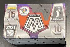 2021 Panini Mosaic UEFA EURO 2020 Hobby Box (factory sealed)