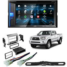 KW-V25BT In-Dash Bluetooth Digital Car Stereo with dash kit for Toyota Tacoma