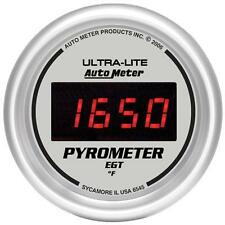UNIVERSIAL DODGE FORD CHEVY AUTO METER ULTRA-LITE DIGITAL PYROMETER GAUGE.