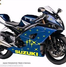 Stars MOTO ADESIVI 60 STELLE + 2x logo Suzuki Bike-Tatuaggio Set w7d