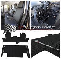 Ford Transit a Medida (2020 Imitación Piel Frente Seat Cubiertas & Todo Mats 522
