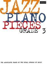 JAZZ PIANO PIECES   ABRSM   GRADE 3  Exam Music Book