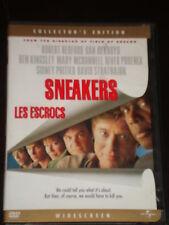DvD movie Sneakers, River Phoenix, Robert Redford, Dan Ackroyd, Sidney Poitier