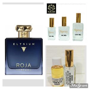 Roja Elysium Pour Homme Colonge extract based EdP Niche Fragrance 30 - 50ML