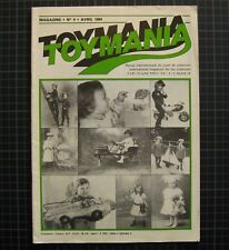 Antique toy show revista chapa juguete antiguo toymania Paris Revue d Jouet 1984