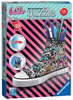 11163 Ravensburger LOL Surprise Sneaker 3D Puzzle Pencil Storage Pot 108pc Age 8