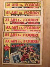 Alain la Foudre - 6 numéros - Collection Victoire - BE