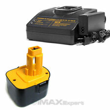 1+1 COMBO 12V 3.0AH Ni-Mh Battery + Charger DEWALT DC9071 DW9071 DW9072 Cordless