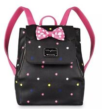 Disney Park Minnie Mouse Rock The Dots Mini Backpack Loungefly 2019