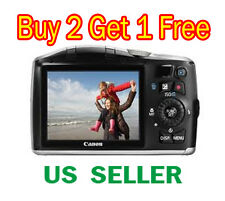 1x Canon PowerShot SX150 IS Clear LCD Screen Protector Guard Shield Film