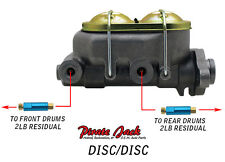 """1-1/8"""" Bore Master Cylinder including Residual Valves for Disc/Disc Applications"""