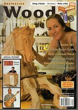 AUSTRALIAN WOOD REVIEW #62 - Woodwork Magazine Projects - Make A Bed