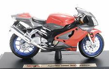 Ktm 690 Duke Maisto 1 18 naranja negro modelo motocicleta de metal fundido