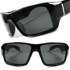 Motorcycle Biker Outdoor Fishing Hunting Polarized Wrap Sport Sunglasses F96