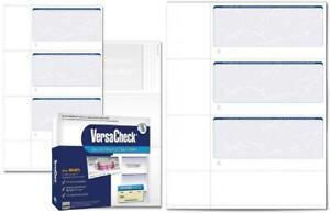 VersaCheck Security Personal Check Refills: Form #3001 250 Sheets, Blue