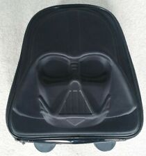 Disney store Darth vador rolling luggage with Light Up Wheels very collectable
