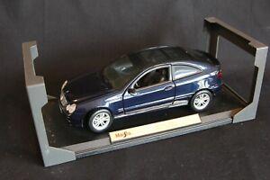 Maisto Mercedes-Benz C-Class Sportcoupé 1:18 blue (#2) (JS)