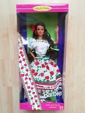 Barbie Collector Dolls Of The World Mexican Mattel 1994