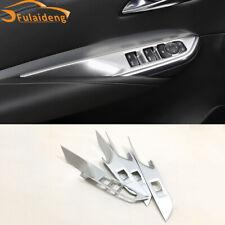 For Cadillac XT4 2018-2021 ABS Matt Car Interior window switch panel cover Tirm