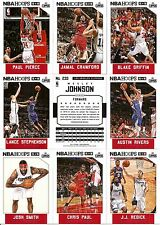 2015-16 Panini NBA Hoops Los Angeles Clippers Complete Team Set (10)