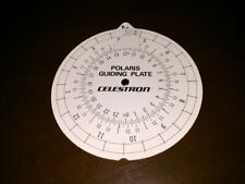Vintage Celestron Polaris Guiding Plate #1