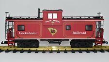 """Usa Trains University of South Carolina Gamecocks """"Cockaboose"""" Model Rr Caboose"""