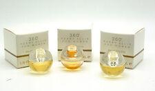 360 Perry Ellis 1/8 fl oz Eau De Toilette Mini Splash for Women (Package of 3)