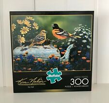 300 Large Piece Jigsaw - Tea Time by Kim Norlien, made by Buffalo Puzzle w/poste
