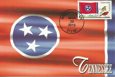 Tennesse State Flag, Flags of our Nation USA Maximum Card