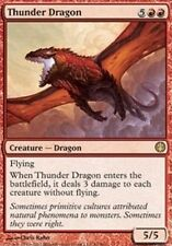 1x THUNDER DRAGON - Rare - Knights vs Dragons - MTG - NM - Magic the Gathering