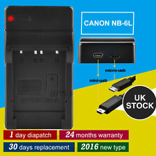 Canon for USB Battery PowerShot NB-6LH S95 NB-6L S90 IXUS Digital Charger