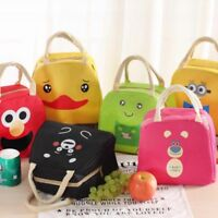 Cartoon Animal Lunch Bag Portable Insulated Cooler Bags Picnic Lunchbox for Kids