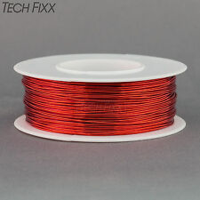 Magnet Wire 26 Gauge AWG Enameled Copper 400 Feet Coil Winding and Crafts Red