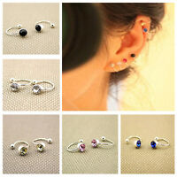1 Pair Punk Style Clip-on Wrap Earrings Non-piercing Cartilage Ear Cuff Jewelry