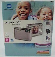 Konica Minolta Dimage X1 8.0 MP Digital Camera + BONUS