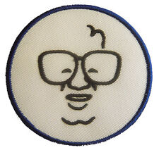 New MLB Chicago Cubs Harry Caray embroidered iron-on patch. 2.8 inch (i52)
