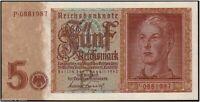 FAMED WW2 NAZI BANKNOTE w ARYAN YOUTH/SWASTIKA! RARE GEM COND Best Price for Gem