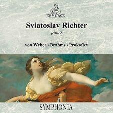 SVIATOSLAV RICHTER - PIANO VON WEBER/BRAHMS/PROKOFIEV CD ERM1013