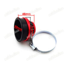 60mm Motorcycle Air Filter For Gas Motorized Bicycle Mini ATV Dirt Pocket Bikes