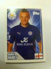 Jamie Vardy Rookie Sticker - Topps Premier League 2015 - MINT Condition - FOXES