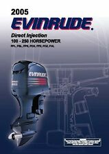 Evinrude Outboard Owners Manual 2005 100 HP   FPL, FSL, FPX, FCX, FPZ, FCZ & FHL