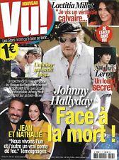 VU! n°13 nov.-décembre 2017 J.Hallyday/ Dujardin/ Leroy/ Milot/ Delon/ Cotillard