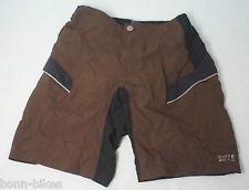 Gore Bike Wear Countdown II Mujer Shorts de Dama negro-marrón TALLA 36 NUEVO#