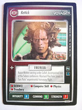 Star Trek CCG - Rettick (Kazon Personnel / Uncommon) Star Trek Sammelkarten