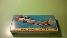 """Hasegawa # 00171 – Lockheed T-33 """"Thunderbirds"""" – 1:72 scale – very rare"""