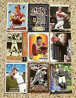 Lot of 9 Johnny BENCH Baseball Cards.. Cincinnati Reds Legend  & ICON