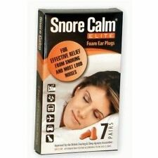Snore Calm Elite Foam Ear Plugs 7 Pairs