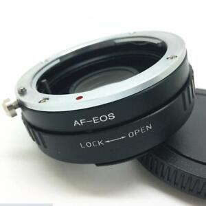 AF-EOS Adapter For Sony Minolta AF MA Lens to Canon EOS Optical Glass Infinity