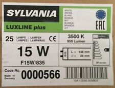 2,4,8 PACK OF 15W T8 835  white FLUORESCENT TUBES 18 INCHES SYLVANIA 835